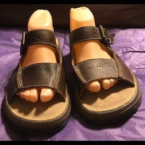Dr. Martens Air Wair Leather Sandals/Slides
